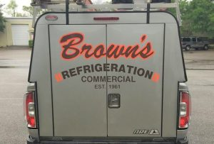 custom vinyl vehicle lettering