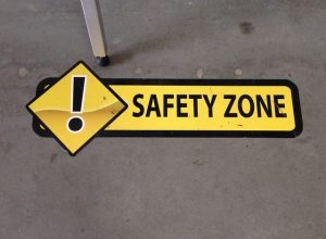 custom floor vinyl safety graphics